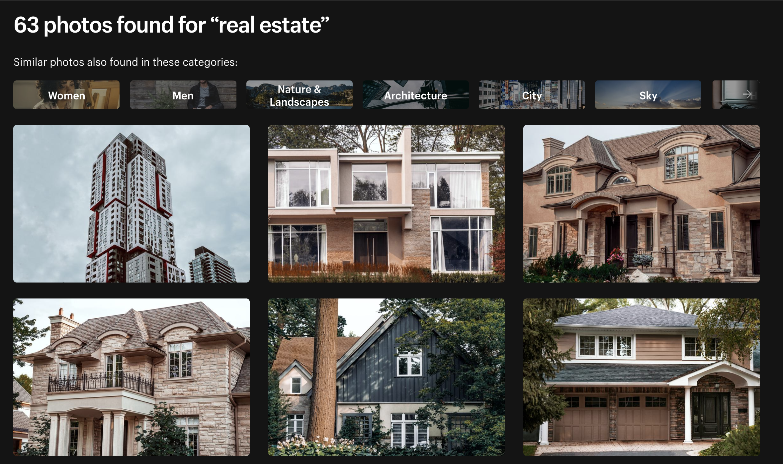 Burst - free real estate photos